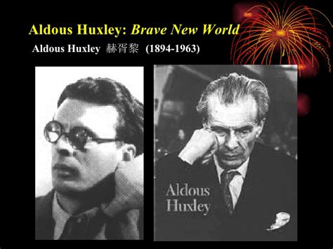 themes and symbols in brave new world aldous huxley brave new world
