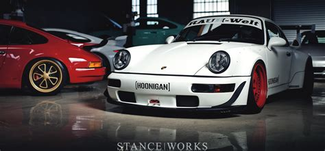 porsche rwb interior the daily grind a look behind the scenes stance works