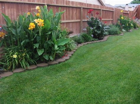 backyard planting ideas rms trinigirl72 pavers plants along fenceline beach
