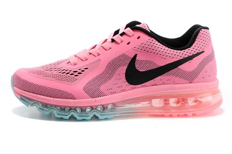 high quality nike air max pink black running shoes mens