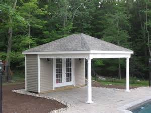 Shed With Porch Plans custom pool houses amish mike amish sheds amish barns