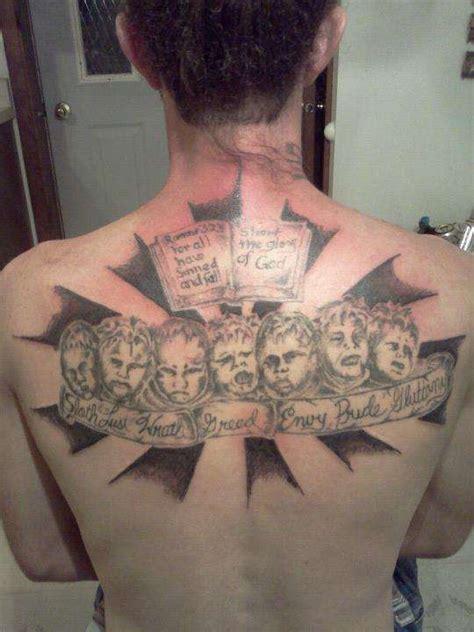 seven sins tattoo 7 deadly sins symbols www pixshark images