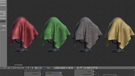 tutorial blender cloth http planetblender com makingproceduralfabricmaterials