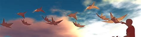 Origami Flying - origami flying crane