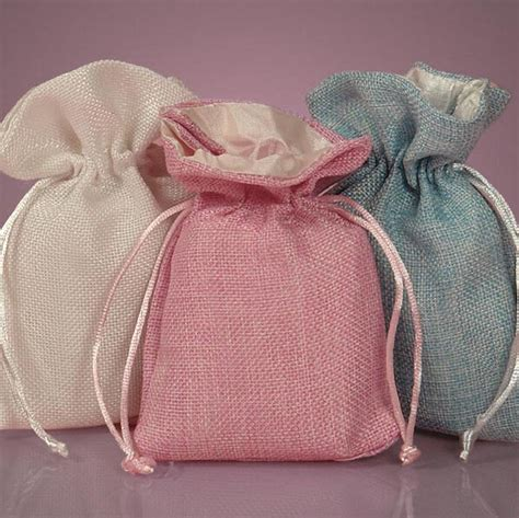 Pouch Goni wholesale satin lined jute jewelry pouch jute bag buy