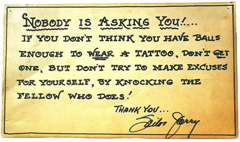 why not to get a tattoo sailor jerry traditional tattoos another