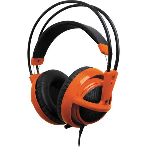 Headset Gaming Siberia V2 Steelseries Siberia V2 Size Gaming Headset Orange 51106