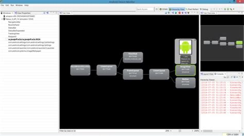 android studio layout hierarchy viewer android studio for beginners part 4 advanced tools and