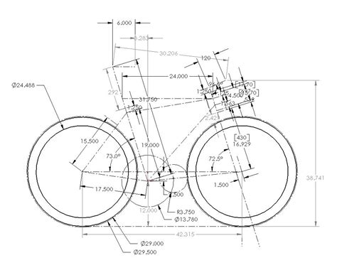 Auto Cad File Bicycle Cad Drawing Bicycle Model Ideas