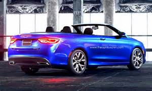 Chrysler Convertible Cars 2016 Chrysler 200 Convertible Release Date Car