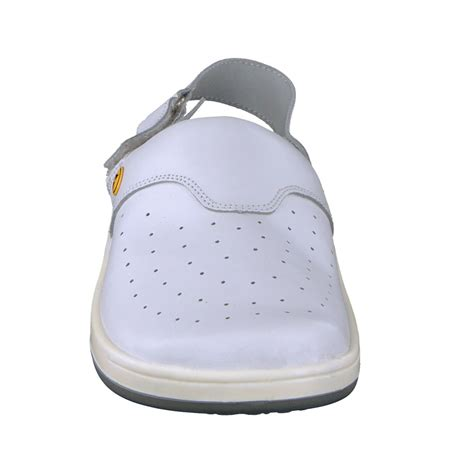 comfortable clogs for work wellness comfort clogs greg for work esd white for men