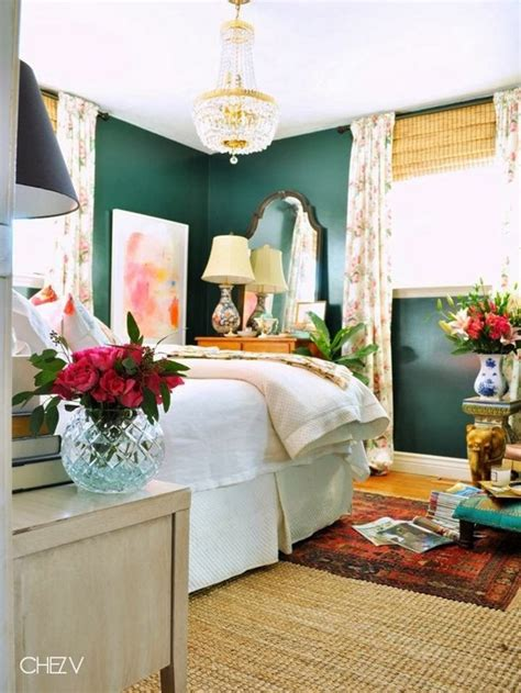 dark green bedroom ideas design planning dark green walls emily a clark