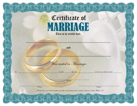 free printable marriage certificate template certificate of marriage free printable