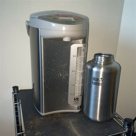 Water Dispenser Zojirushi boiling water just another beverage