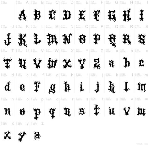 tattoo fonts download