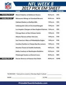 Weekly Football Pool Template by 2014 Ncaa Football Week To Week Schedule Printable