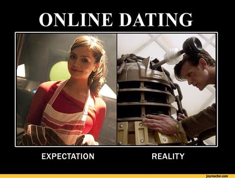 Online Meme - online datingexpectationreality doctor who tv
