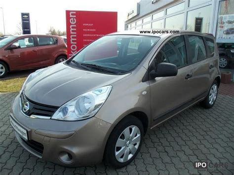 comfort package 2011 nissan note 1 4 comfort package visia car photo and