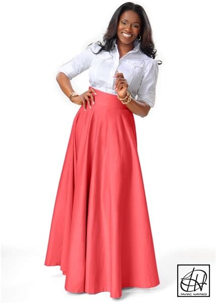 floor length high waist swing skirt floor length high waist swing skirt
