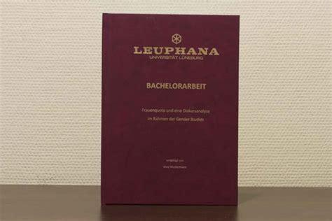 Bewerbungsunterlagen Leuphana Bachelorarbeit Hausarbeit Masterarbeit Und Dissertation