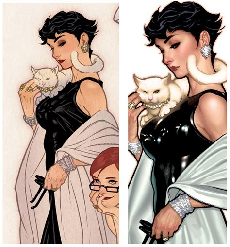 short hair comic book woman do you prefer catwoman selina kyle with long or short hair