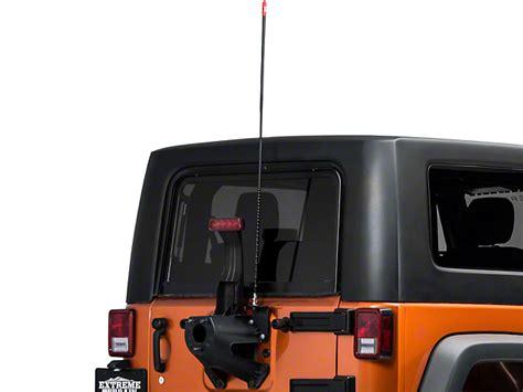 jeep wrangler cb firestik wrangler cb antenna kit 4 fs4 black 87 17