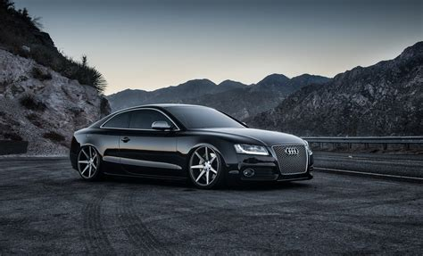 road sports car sports car gray background black road audi mountain