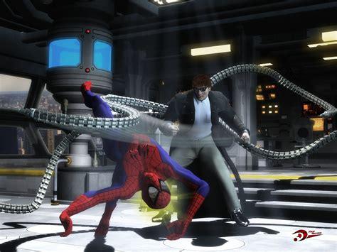 Spider Man vs Doctor Octopus Full HD Wallpaper and