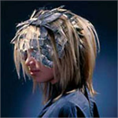 where to place your foils in hair hair highlights putting color highlights in your hair