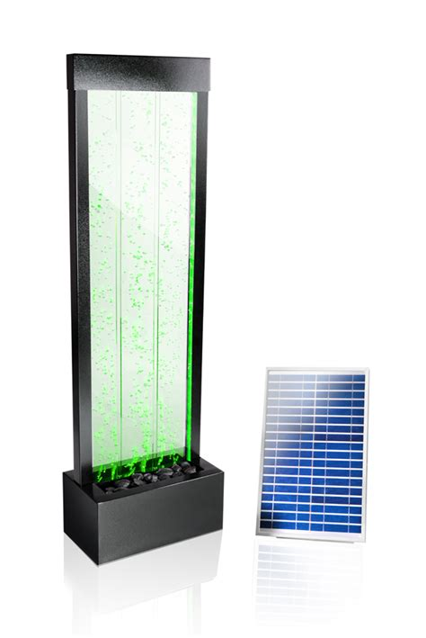 Solar Lights Indoor Use 4ft 9 Quot 150cm Solar Mains Powered Water Wall With