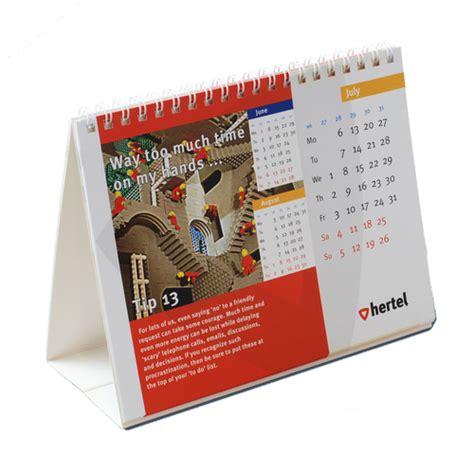 Desk Calendars Desk Calendar Printing Helloprint