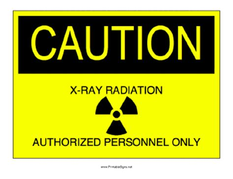 printable x ray radiation sign printable x ray radiation sign