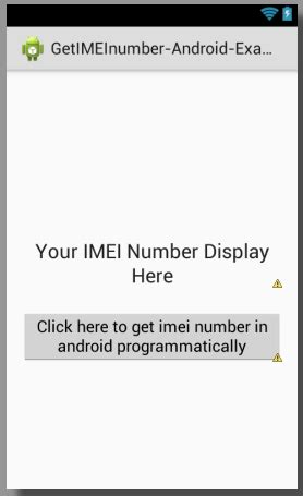 how to get a mobile number find get imei number in android programmatically