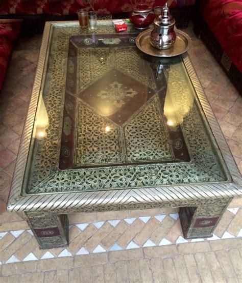 artisanat marocain de marrakech meubles de salon
