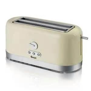 Cream Toasters Swan St10090cren 4 Slice Long Slot Cream Toaster