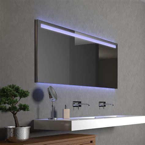 Led Badezimmerspiegel by Badezimmerspiegel Mit Led Supled Oben Led 9000876