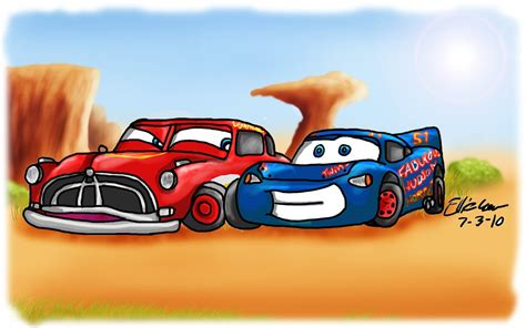 cars sally and lightning mcqueen kiss haloween again by blustreakfreak on deviantart