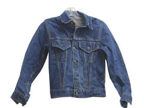 Denim Home Decor by 60s Vintage Levis Jacket 60s Levis Boys Indigo Blue