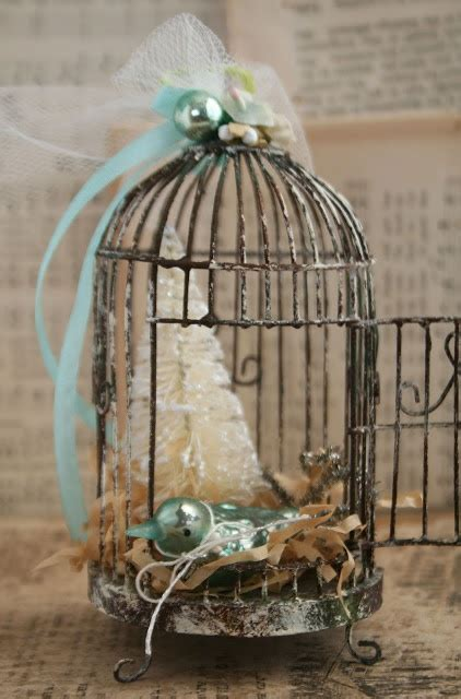decorated bird cage julie collings easter basket