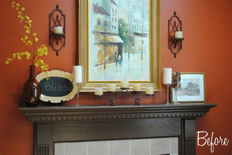summer mantel with frappe accents burger