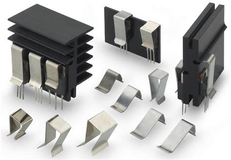 Heatsink All Black Type 2 new retaining springs for transistors for fitting to heatsinks etc fischerelektronik