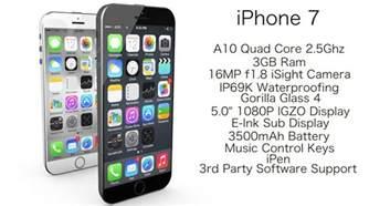iphone 7 specifications iphone 7 specifications the phone of dreams