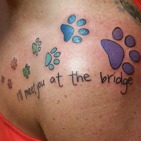 Best 25 Beagle Tattoo Ideas On Pinterest Pet Tattoos Paw Print Memorial Tattoos
