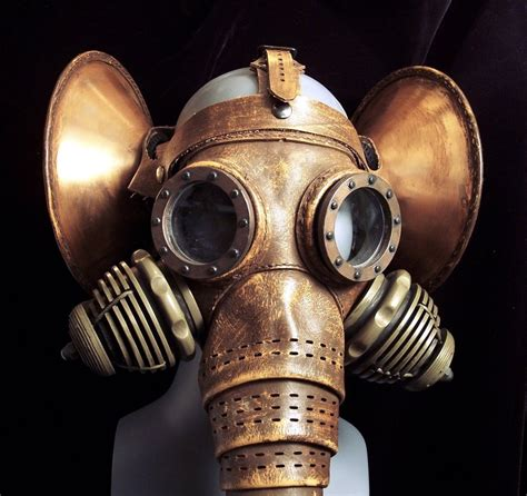 gas mask steunk gas masks helmets so exquisite they ll leave