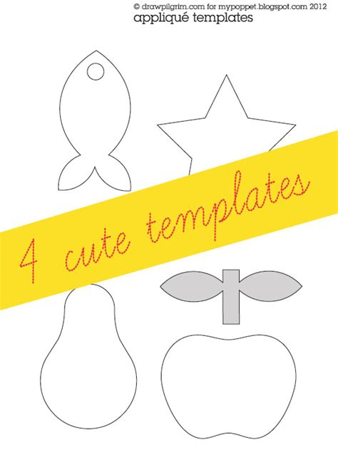 applique template how to applique template free printable my poppet makes