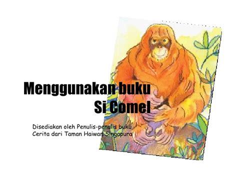 Buku Pembelajaran Moral Dari Sifat Binatang menggunakan buku si comel