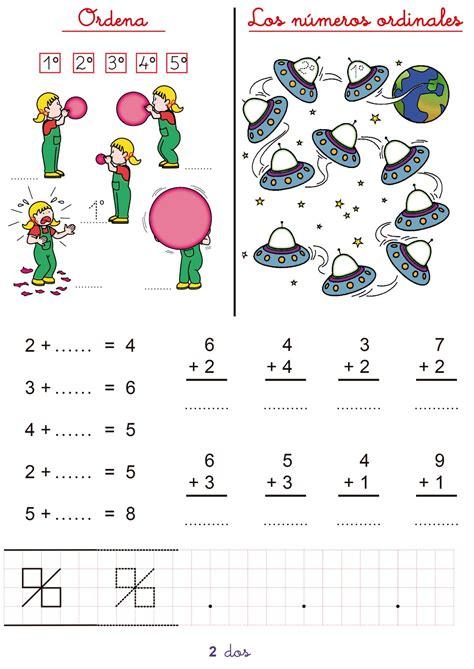 matemticas 1 primaria cuaderno de repaso matem 225 ticas de primero de primaria