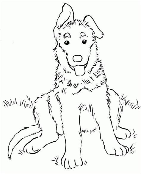 coloring pages german boy german shepherd coloring coloring home