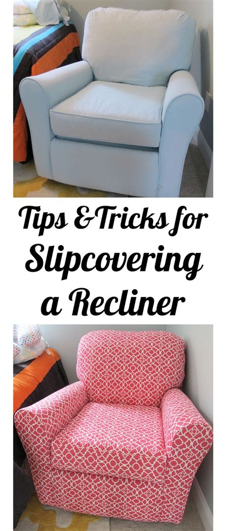 furniture tips and tricks bonnieprojects tips tricks for slipcovering a recliner