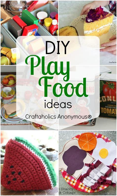 diy food crafts craftaholics anonymous 174 diy play food ideas
